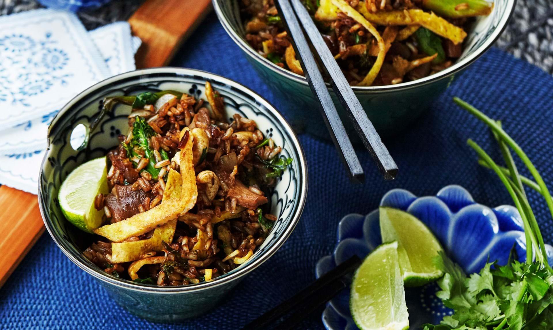 Fried rice: Sådan laver du 3 gode retter med stegte ris