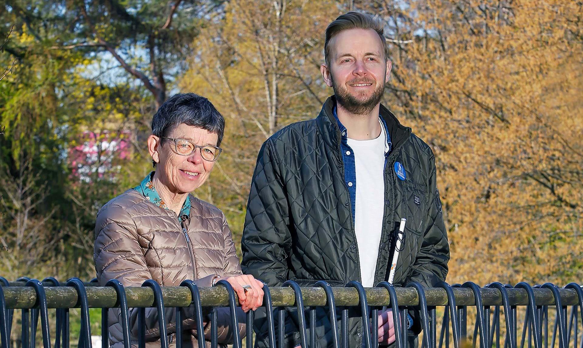 Da Kristian blev blind, udviklede han en app, der bekæmper ensomhed